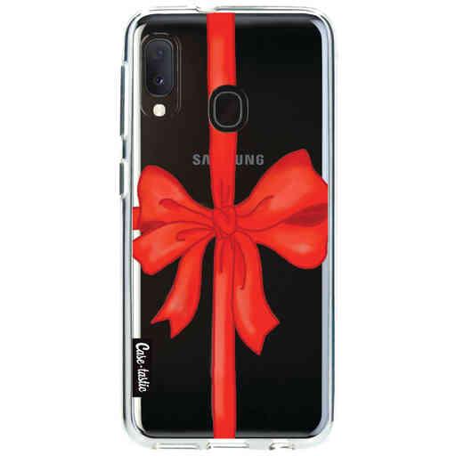 Casetastic Softcover Samsung Galaxy A20e (2019) - Christmas Ribbon
