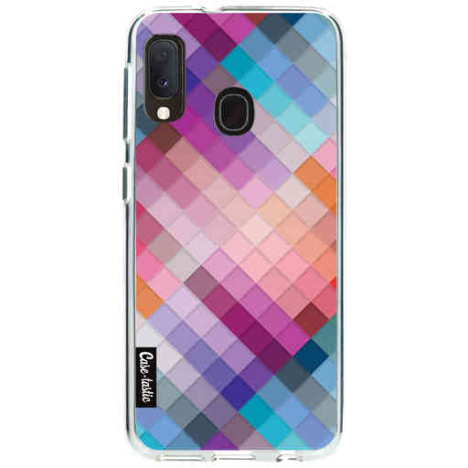 Casetastic Softcover Samsung Galaxy A20e (2019) - Seamless Cubes