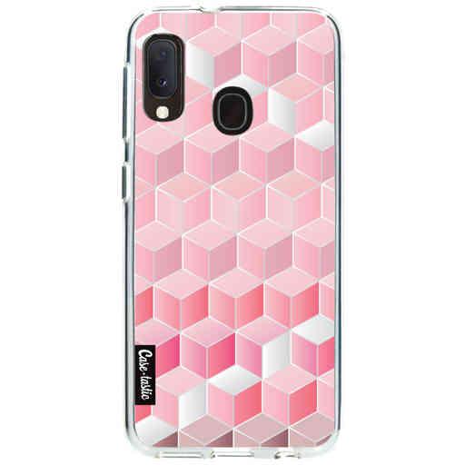Casetastic Softcover Samsung Galaxy A20e (2019) - Cubes Vibe
