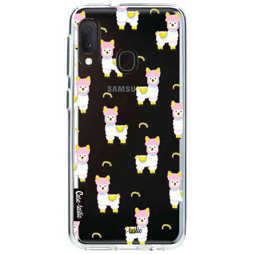 Casetastic Softcover Samsung Galaxy A20e (2019) - Rainbow Llama