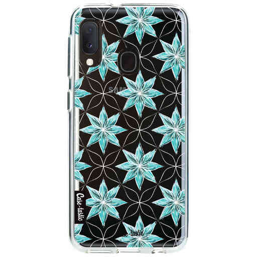Casetastic Softcover Samsung Galaxy A20e (2019) - Statement Flowers Blue