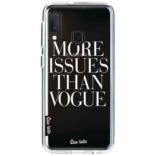 Casetastic Softcover Samsung Galaxy A20e (2019) - More issues than Vogue