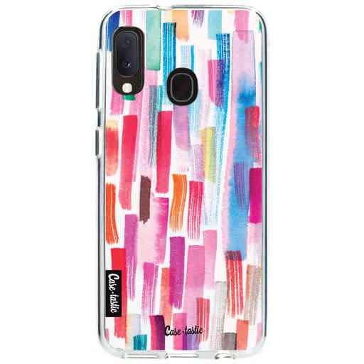 Casetastic Softcover Samsung Galaxy A20e (2019) - Colorful Strokes