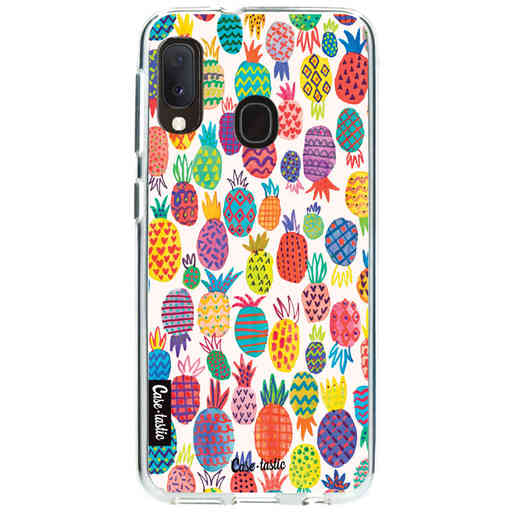 Casetastic Softcover Samsung Galaxy A20e (2019) - Happy Pineapples