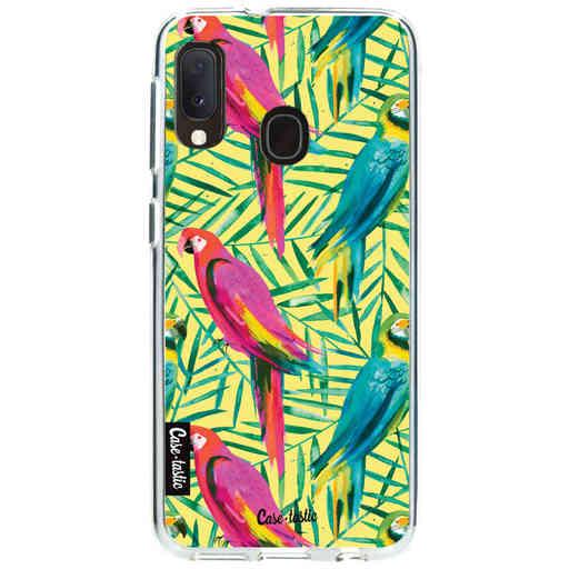Casetastic Softcover Samsung Galaxy A20e (2019) - Tropical Parrots
