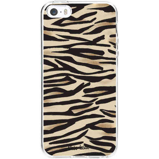 Casetastic Softcover Apple iPhone 5 / 5s / SE - Savannah Zebra