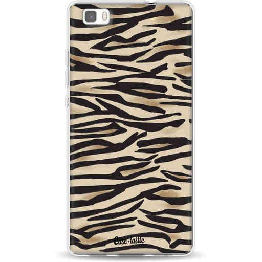 Casetastic Softcover Huawei P8 Lite - Savannah Zebra