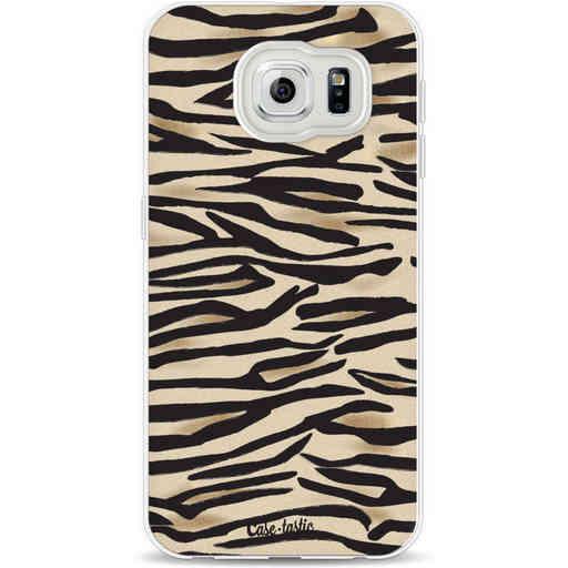 Casetastic Softcover Samsung Galaxy S6 - Savannah Zebra