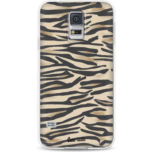 Casetastic Softcover Samsung Galaxy S5  - Savannah Zebra