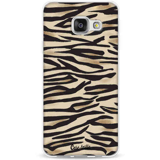 Casetastic Softcover Samsung Galaxy A3 (2016) - Savannah Zebra