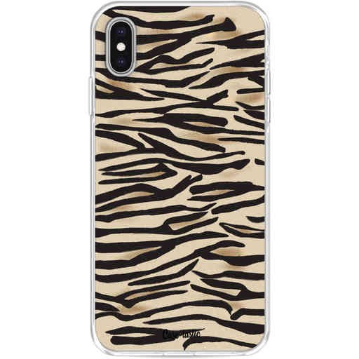Casetastic Softcover Apple iPhone XS Max - Savannah Zebra