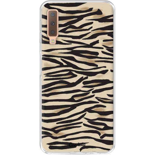 Casetastic Softcover Samsung Galaxy A7 (2018) - Savannah Zebra