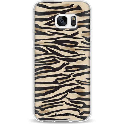 Casetastic Softcover Samsung Galaxy S7 Edge - Savannah Zebra