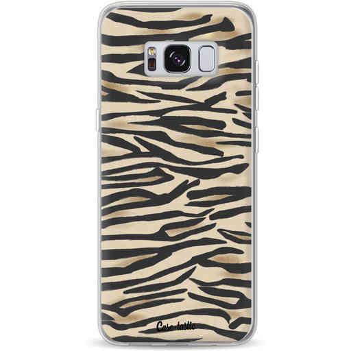 Casetastic Softcover Samsung Galaxy S8 - Savannah Zebra
