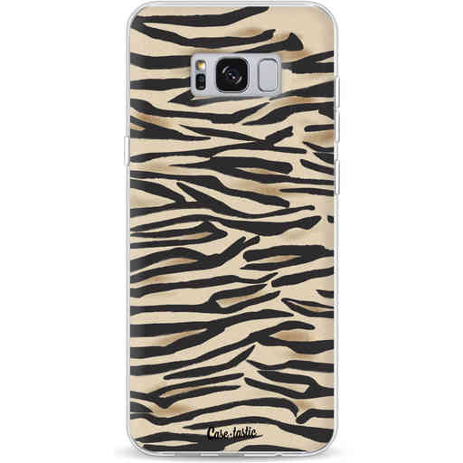 Casetastic Softcover Samsung Galaxy S8 Plus - Savannah Zebra