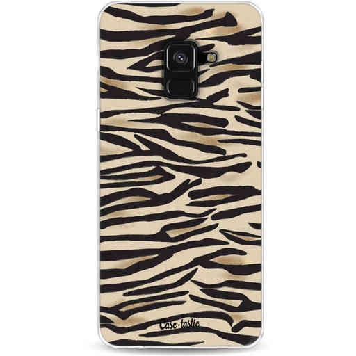 Casetastic Softcover Samsung Galaxy A8 (2018) - Savannah Zebra