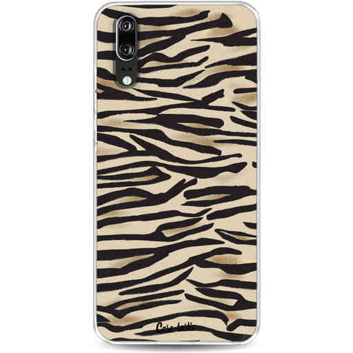 Casetastic Softcover Huawei P20 - Savannah Zebra