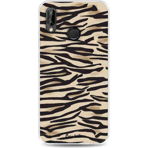 Casetastic Softcover Huawei P20 Lite - Savannah Zebra