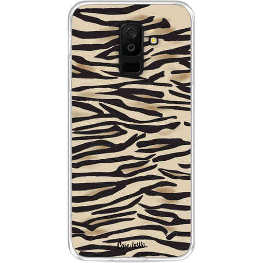Casetastic Softcover Samsung Galaxy A6 Plus (2018) - Savannah Zebra