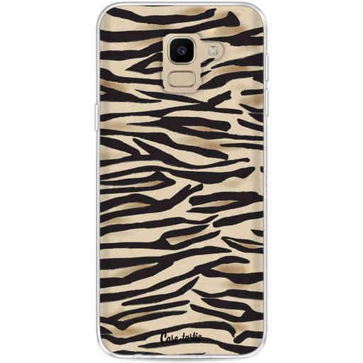 Casetastic Softcover Samsung Galaxy J6 (2018) - Savannah Zebra