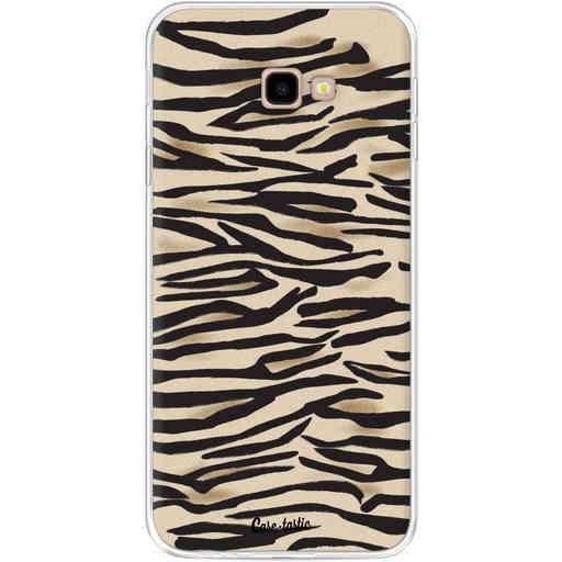 Casetastic Softcover Samsung Galaxy J4 Plus (2018) - Savannah Zebra