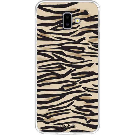 Casetastic Softcover Samsung Galaxy J6 Plus (2018) - Savannah Zebra