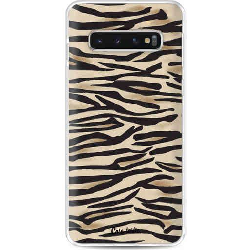 Casetastic Softcover Samsung Galaxy S10 - Savannah Zebra