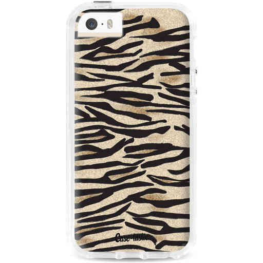 Casetastic Dual Snap Case Apple iPhone 5 / 5s / SE - Savannah Zebra