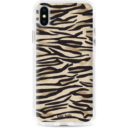 Casetastic Dual Snap Case Apple iPhone X / XS - Savannah Zebra