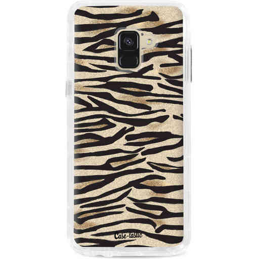 Casetastic Dual Snap Case Samsung Galaxy A8 (2018) - Savannah Zebra