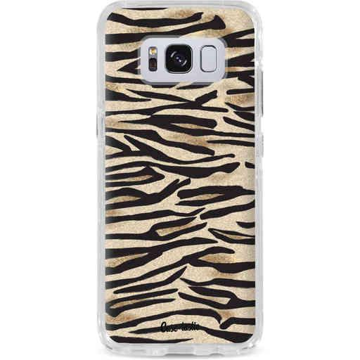 Casetastic Dual Snap Case Samsung Galaxy S8 - Savannah Zebra