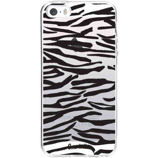 Casetastic Softcover Apple iPhone 5 / 5s / SE - Zebra