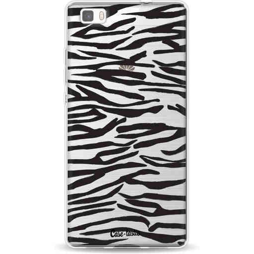 Casetastic Softcover Huawei P8 Lite - Zebra