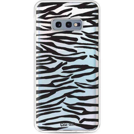 Casetastic Softcover Samsung Galaxy S10e - Zebra