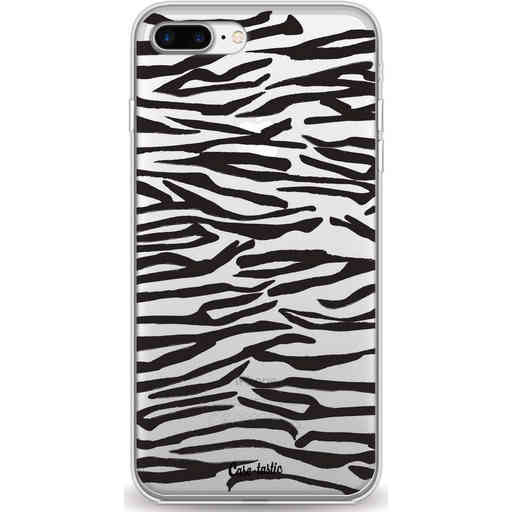 Casetastic Softcover Apple iPhone 7 Plus / 8 Plus - Zebra