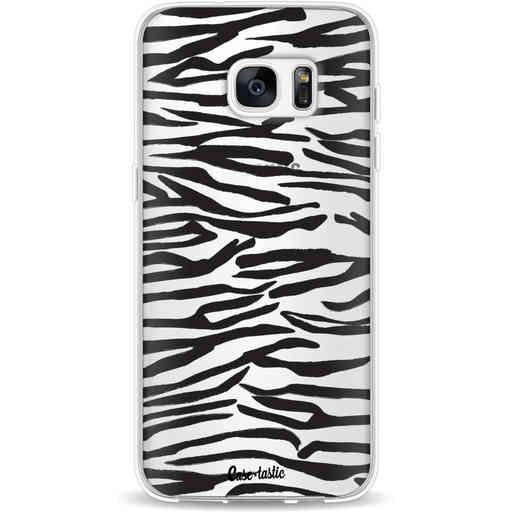 Casetastic Softcover Samsung Galaxy S7 Edge - Zebra