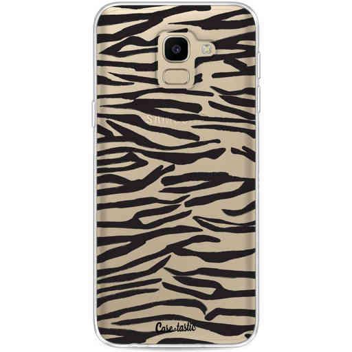 Casetastic Softcover Samsung Galaxy J6 (2018) - Zebra