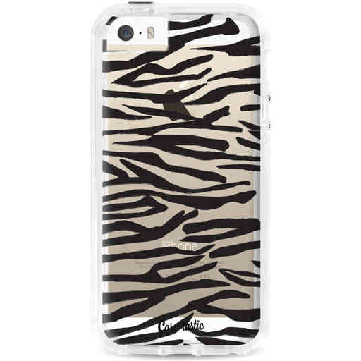 Casetastic Dual Snap Case Apple iPhone 5 / 5s / SE - Zebra