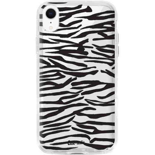 Casetastic Dual Snap Case Apple iPhone XR - Zebra