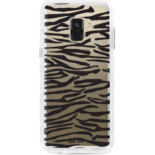 Casetastic Dual Snap Case Samsung Galaxy A8 (2018) - Zebra