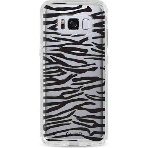 Casetastic Dual Snap Case Samsung Galaxy S8 - Zebra