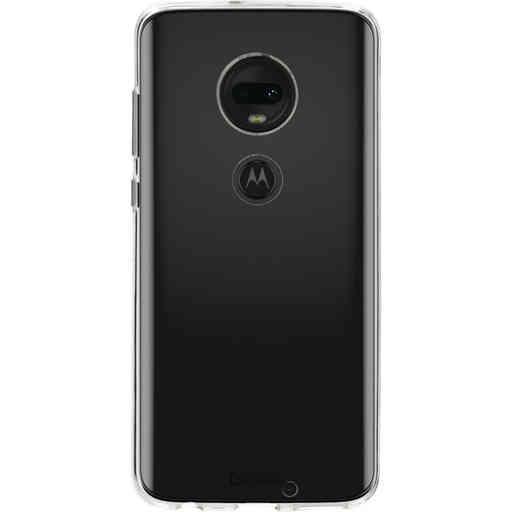 Casetastic Softcover Motorola Moto G7 / G7 Plus - Transparant