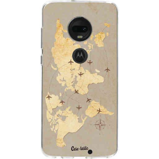 Casetastic Softcover Motorola Moto G7 / G7 Plus - World Traveler