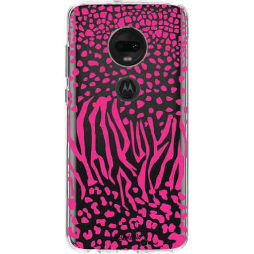 Casetastic Softcover Motorola Moto G7 / G7 Plus - Safari Pink