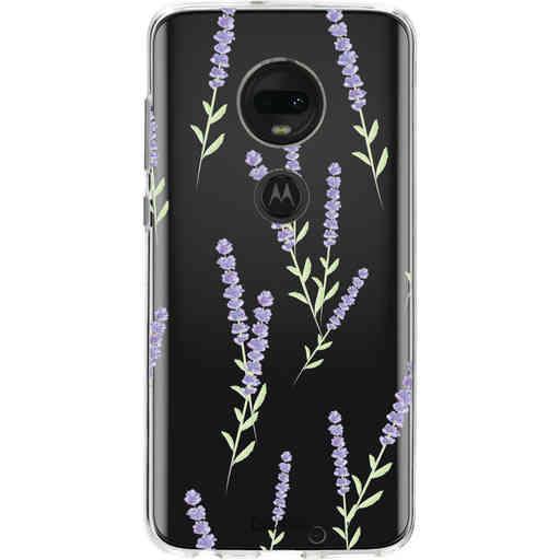 Casetastic Softcover Motorola Moto G7 / G7 Plus - Wonders of Lavender
