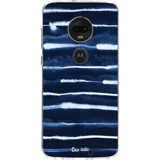 Casetastic Softcover Motorola Moto G7 / G7 Plus - Electrical Navy