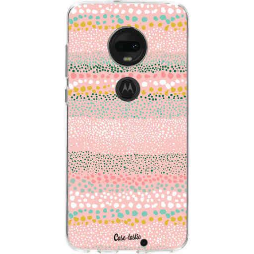 Casetastic Softcover Motorola Moto G7 / G7 Plus - Lovely Dots
