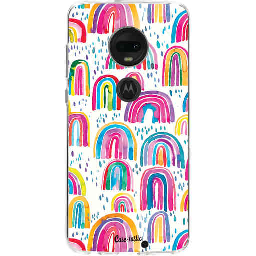 Casetastic Softcover Motorola Moto G7 / G7 Plus - Sweet Candy Rainbows
