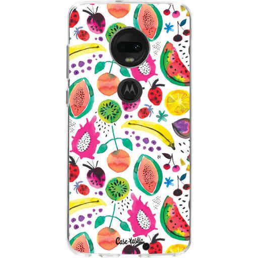 Casetastic Softcover Motorola Moto G7 / G7 Plus - Tropical Fruits