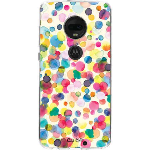 Casetastic Softcover Motorola Moto G7 / G7 Plus - Watercolor Confetti